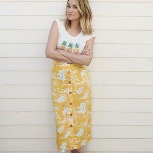 LC Midi Skirt